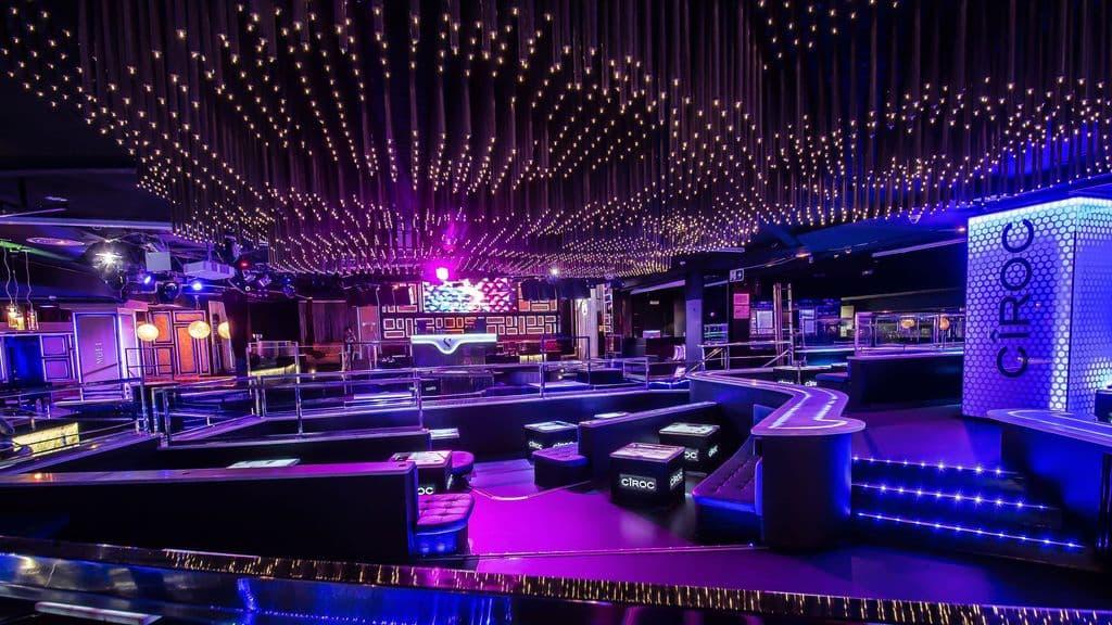Interior de la discoteca Sutton en Barcelona